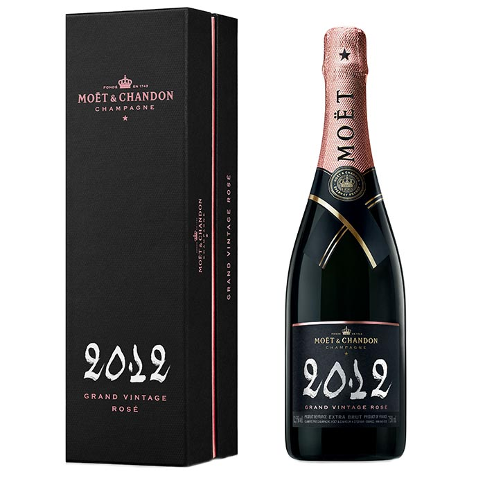 Grand Vintage Rosé von Moët & Chandon