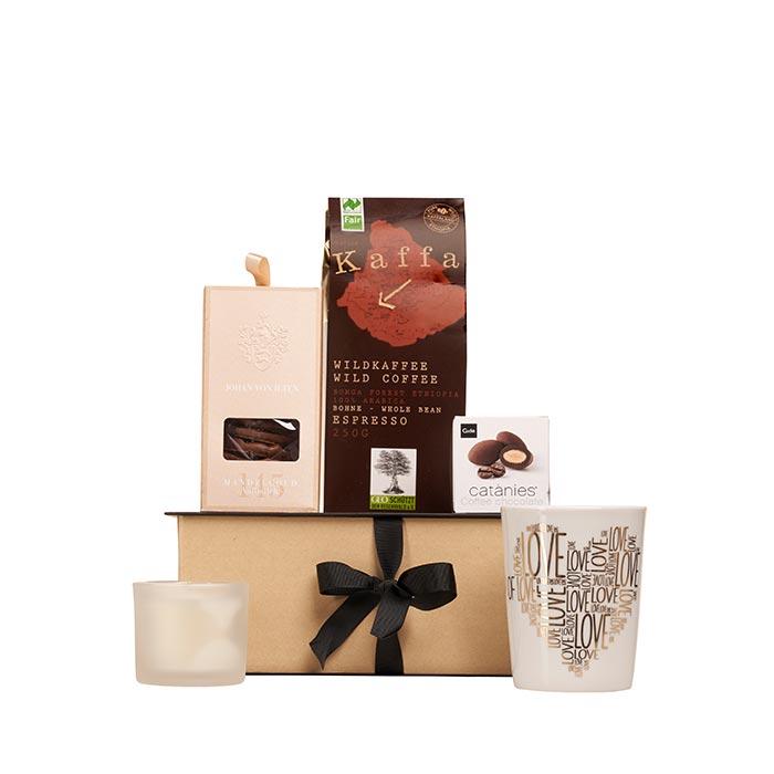 Präsent Coffee Exquisit von Feinkost Käfer