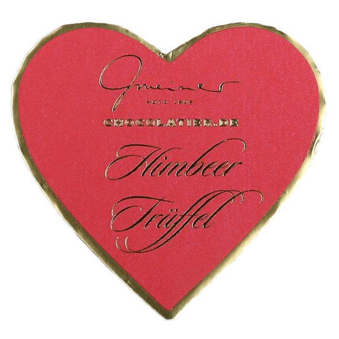 Verwöhnen Sie Ihre Liebsten mit schokoladig süßen und erfirschend fruchtigen Himbeer Trüffeln.