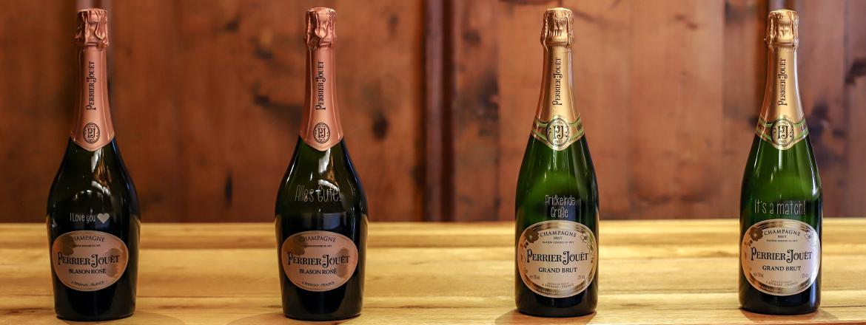 Champagner individuell gravieren