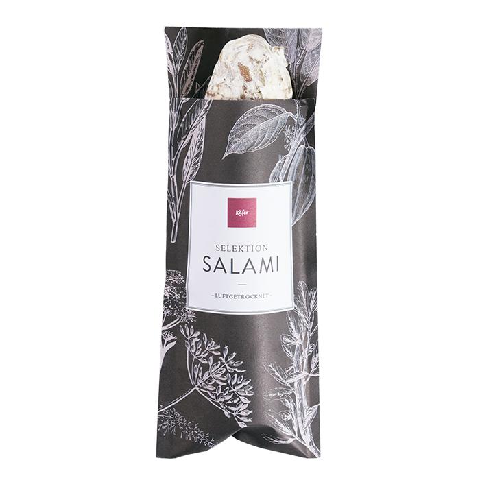 Salami mit Parmesan