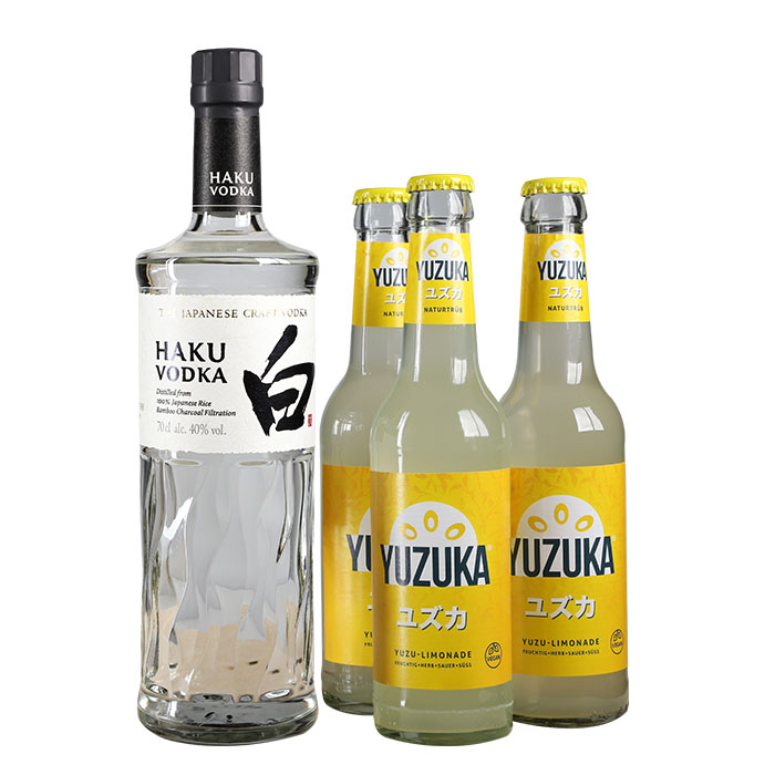 Haku Vodka & Yuzuka Yuzu Set