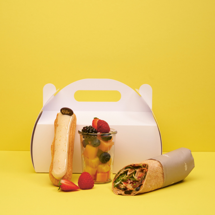 "Lunch Pause ""Business vegetarisch"""