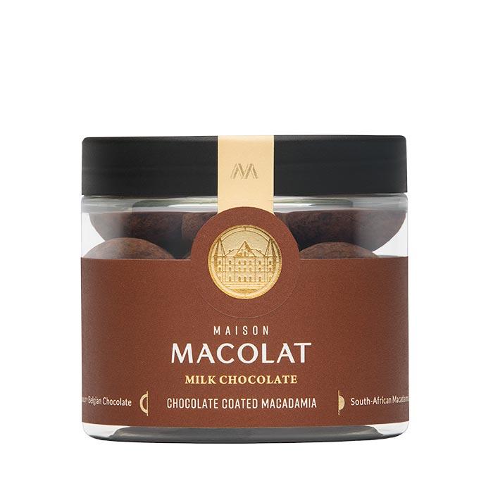 Chocolate Coated Macadamia - Vollmilchschokolade