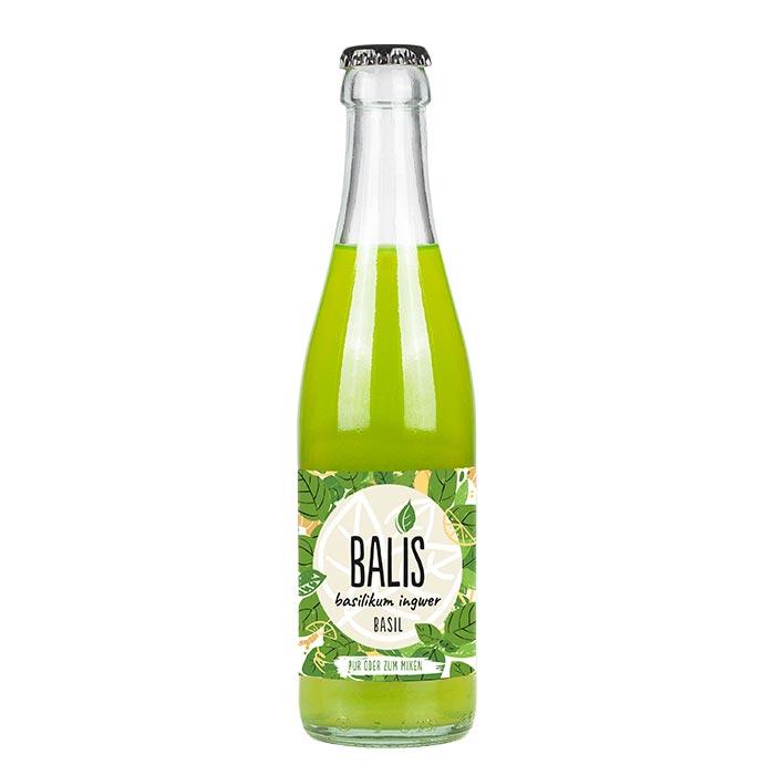 Basil - Basilikum Ingwer Drink