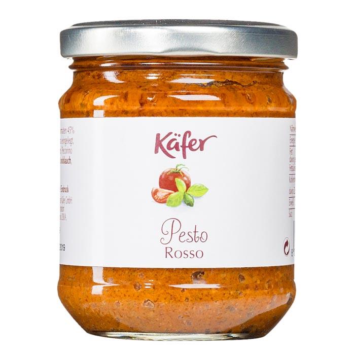 Pesto Rosso mit Tomaten