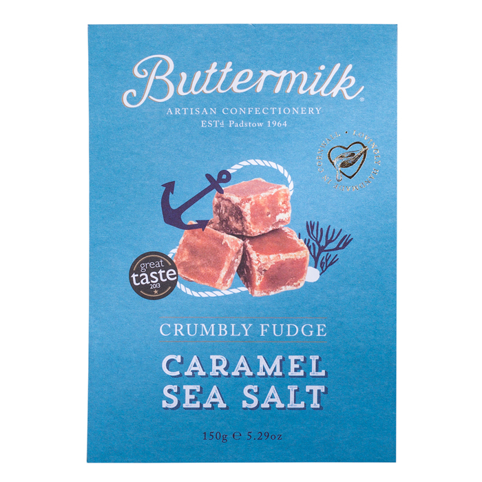 Weichkaramell, Crumbly Fudge Caramel Sea Salt