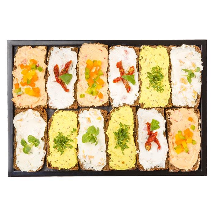 Brotbox vegetarisch/vegan