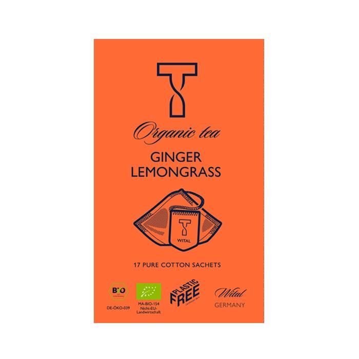 Bio Ginger Lemongrass, Kräutertee von Wital jetzt bei uns online bestellen!