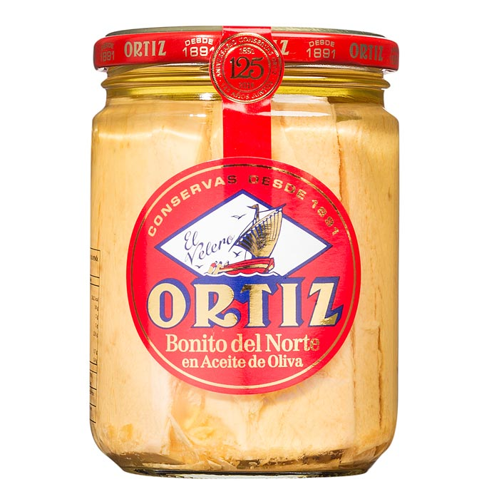 Bonito del Norte, weißer Thunfisch in Olivenöl