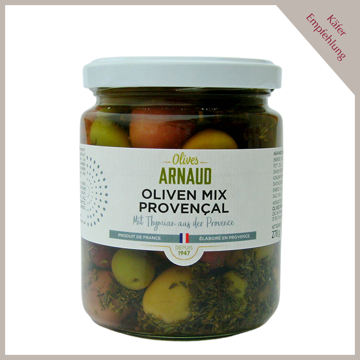 Oliven Mix Provencal, ohne Kern
