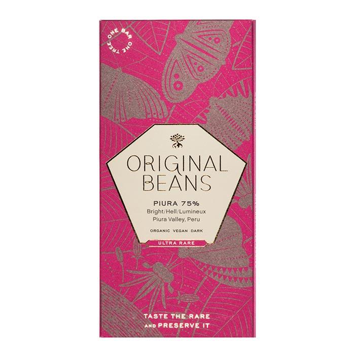 Piura 75% Dunkle Schokolade von Original Beans
