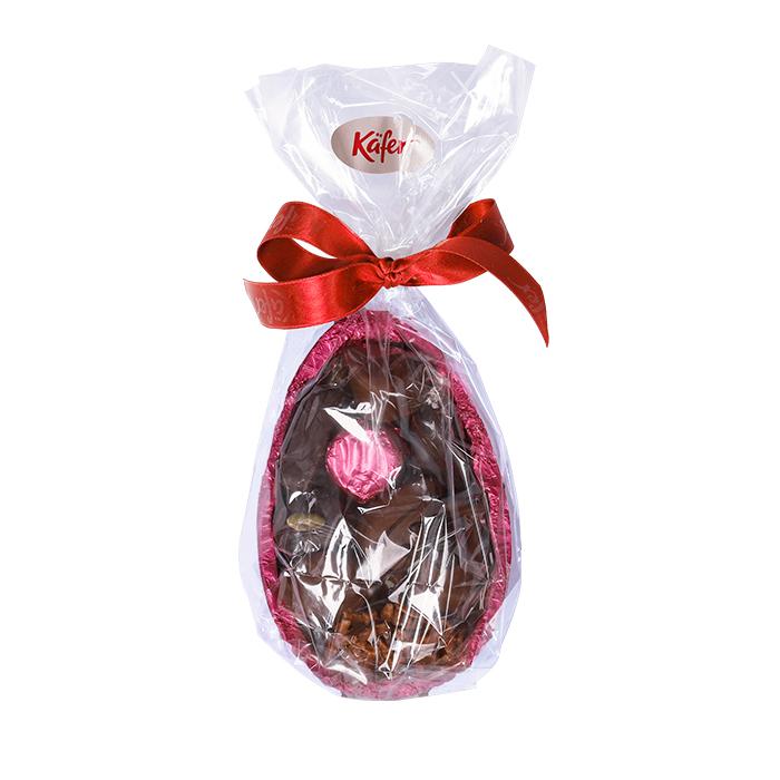 Schokoladenei mit Pralinen