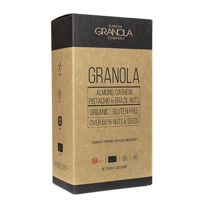 Bio Granola Mandel, Cashew, Paranuss, Pistazien
