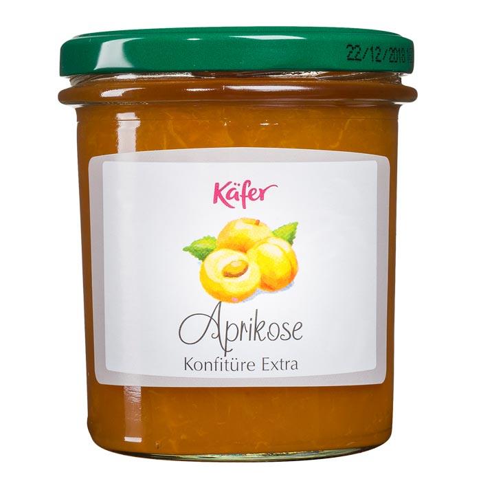 Aprikosen Konfitüre Extra