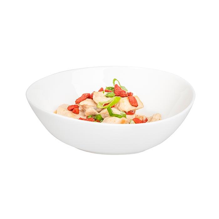 Hühnchensalat Kokos, hausgemacht