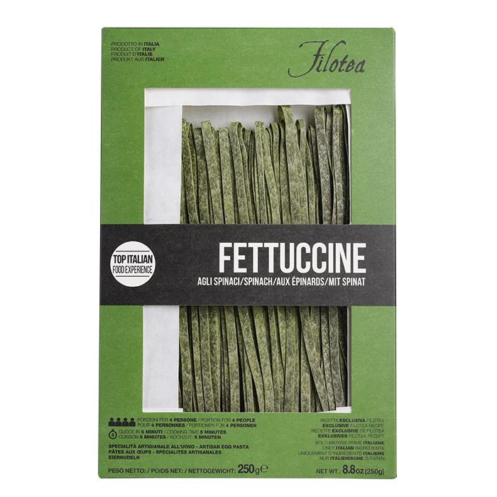 Fettucine mit Spinat