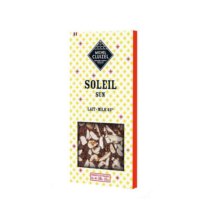 Frühlingsschokolade mit Mandel und Karamell bei Feinkost Käfer online kaufen!