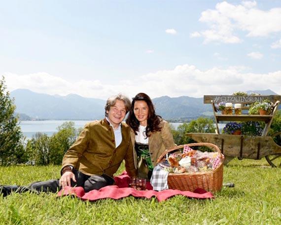 Picknickkorb: Schlemmen im Grünen