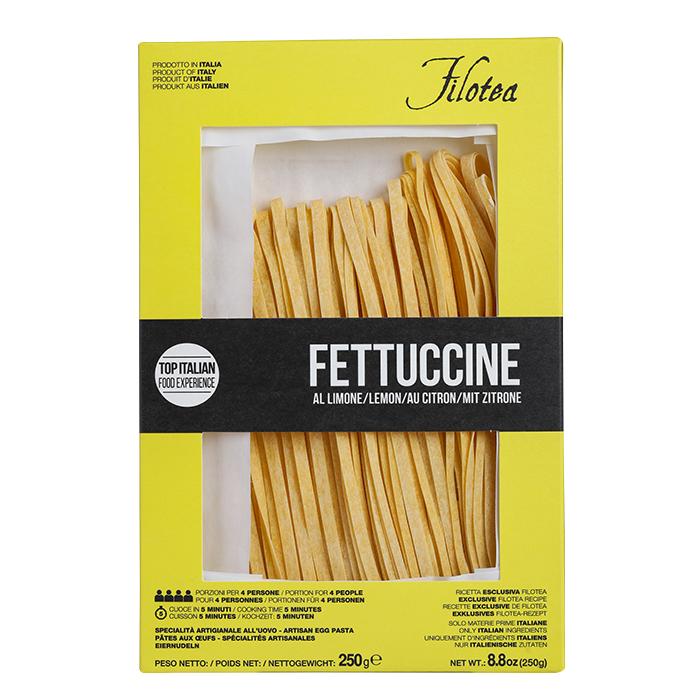 Fettuccine mit Zitrone