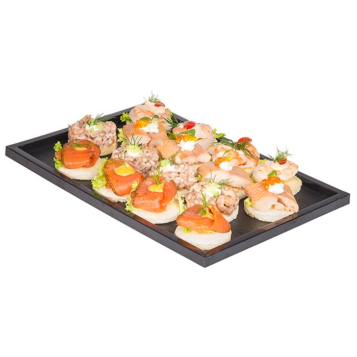Canapé-Package Fisch & Krustentiere