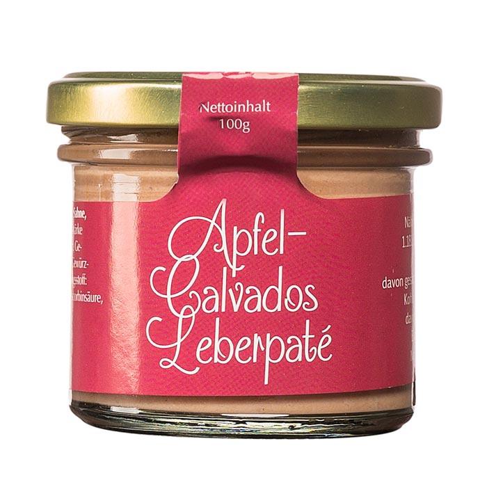Apfel Calvados Leberpaté