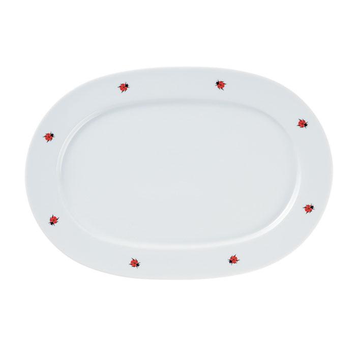 Platte, oval, Ø 38 cm