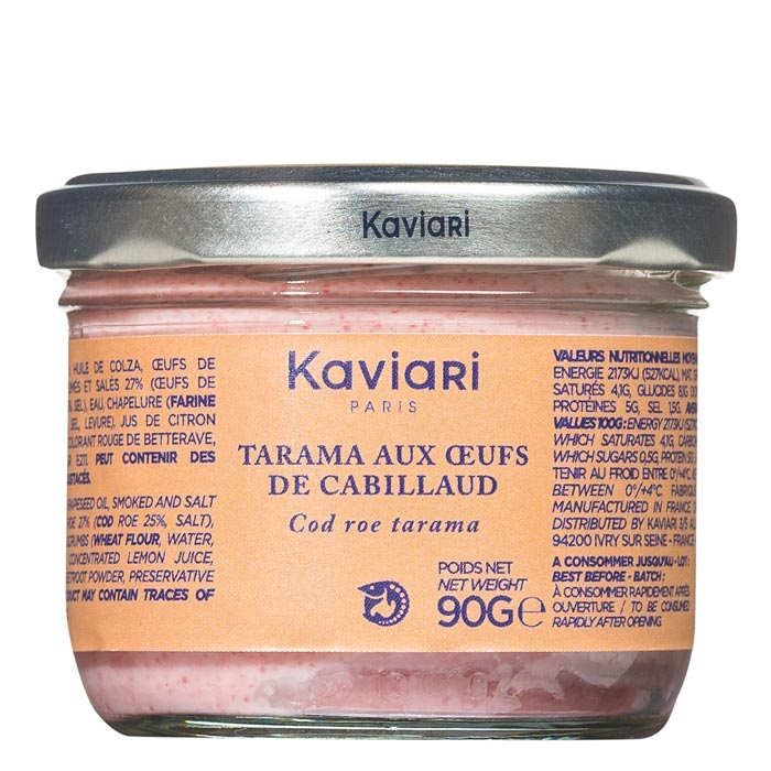 Tarama Kabeljaurogencreme rosé