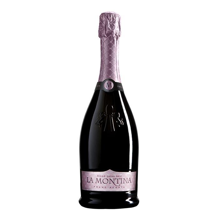 Franciacorta Rosé Demi Sec von La Montina