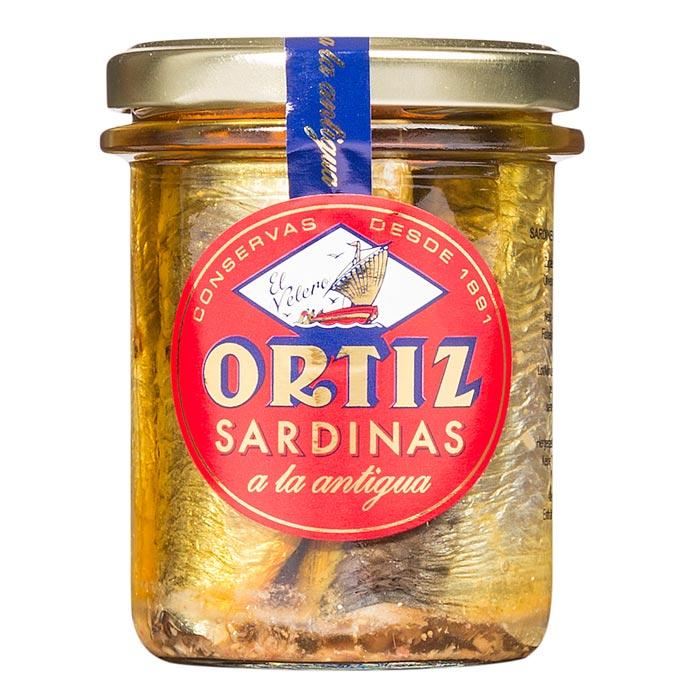 Sardinas a la Antigua, Sardinen in Olivenöl