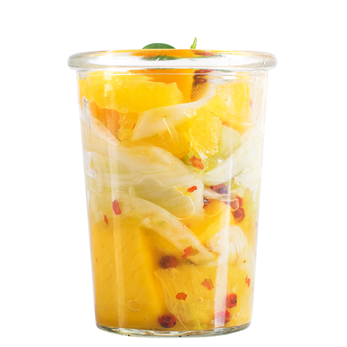 Mango Fenchel Salat