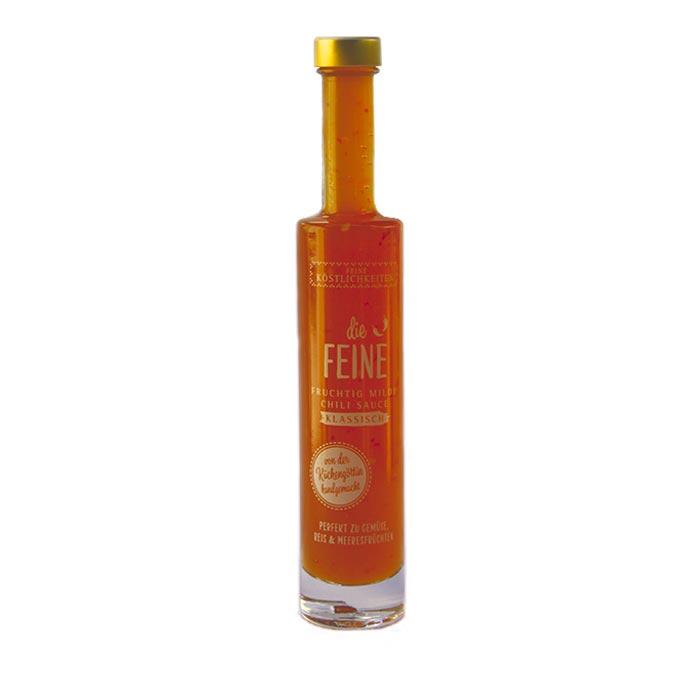 Die Feine, fruchtig milde Chili Sauce