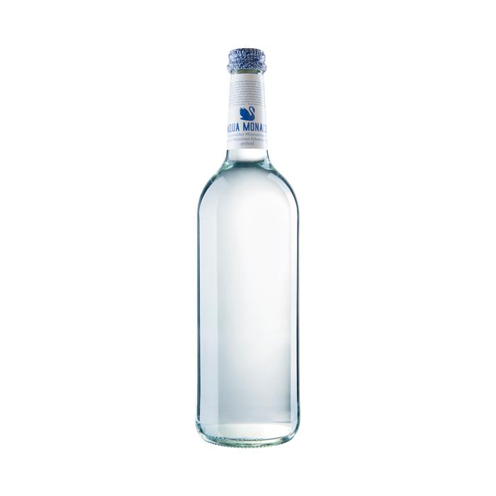 Aqua Monaco Blau, Wasser perlend