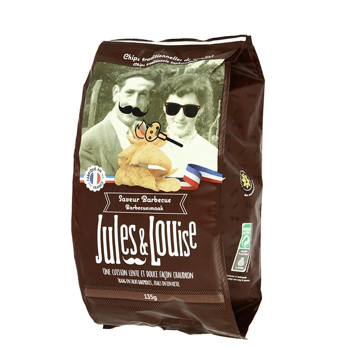 Chips mit BBQ Gewürz von Jules & Louise