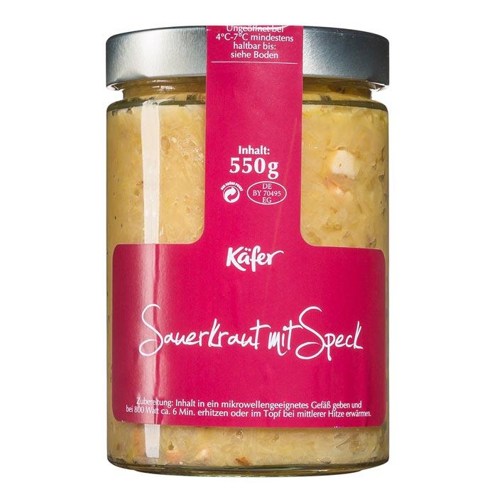 Sauerkraut mit Speck