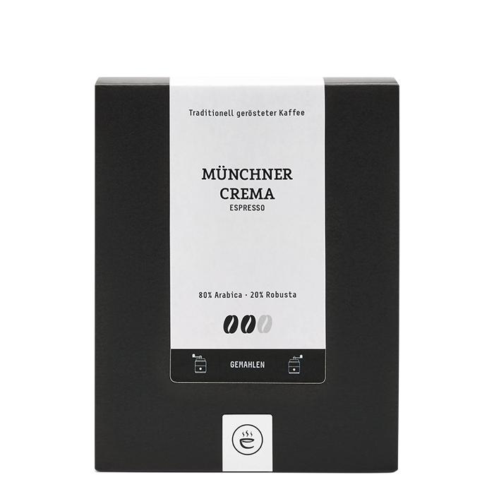 Münchner Crema Espresso, gemahlen