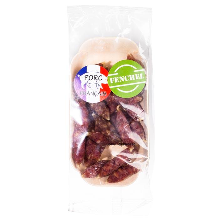 Salamibonbons mit Fenchel