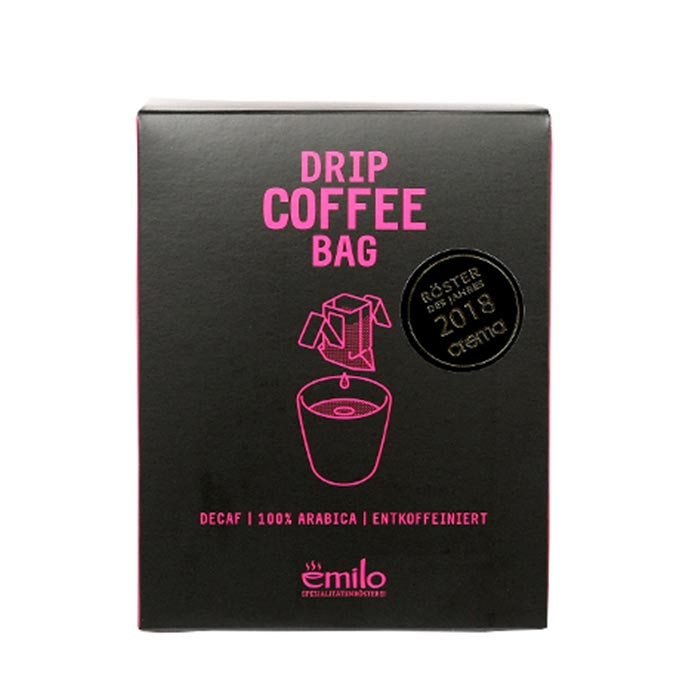 Drip Coffee Bag, entkoffeiniert