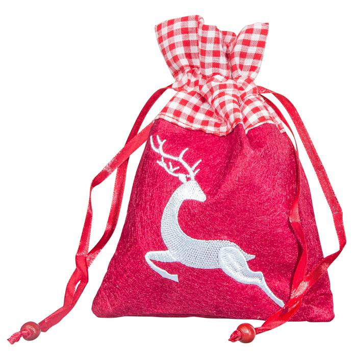 Rotes Filzsäckchen mit Pralinenmischung jetzt online bestellen!