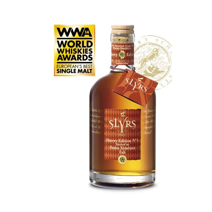 Slyrs Whisky Pedro Ximénez