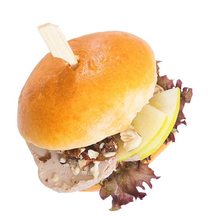 Foie Royal mini Brioche