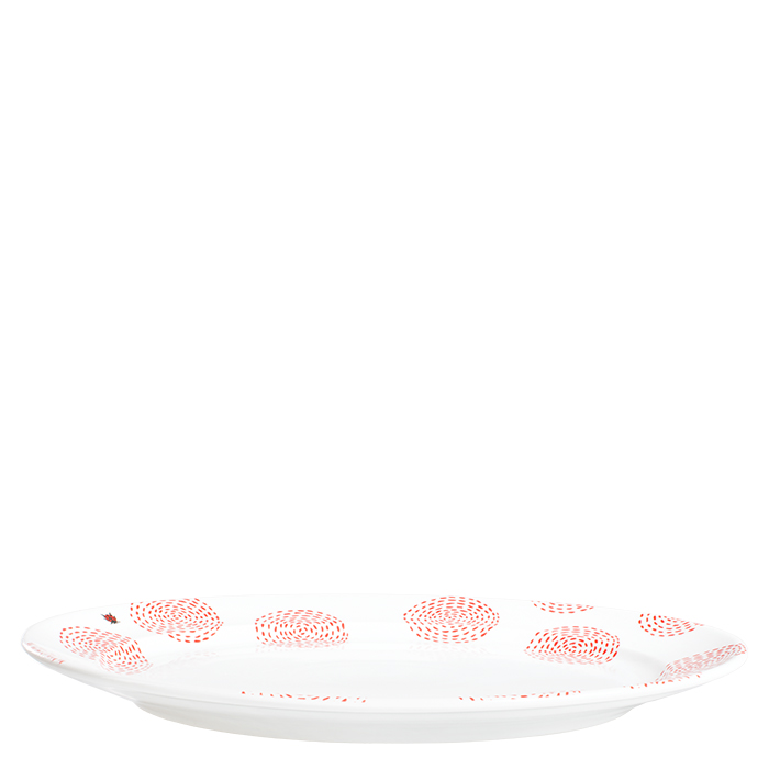 Mustermix Platte oval, 32cm