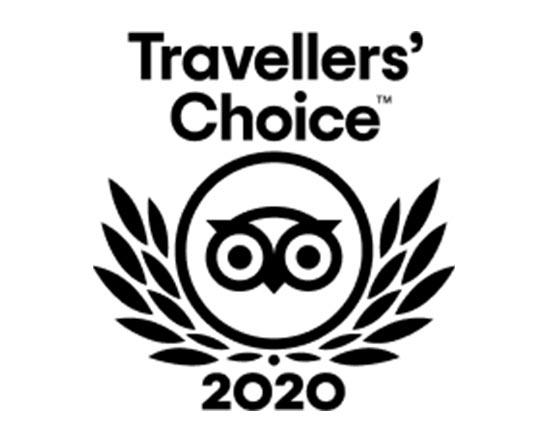 Tipadvisor Travellers` Choice Award 2020