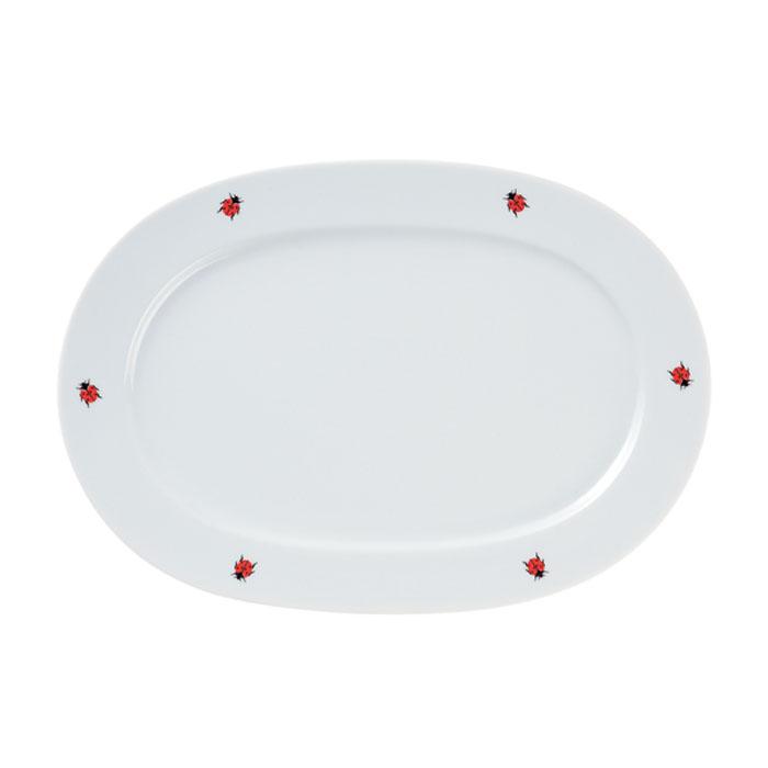 Platte, oval, Ø 32 cm