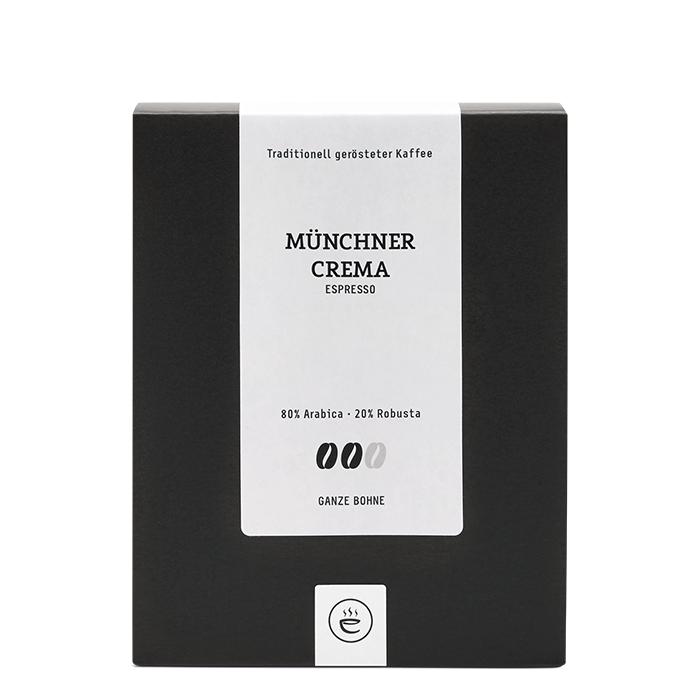 Münchner Crema Espresso, ganze Bohne