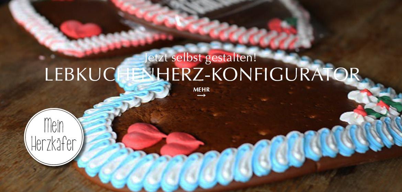 Unser Lebkuchenherz-Konfigurator