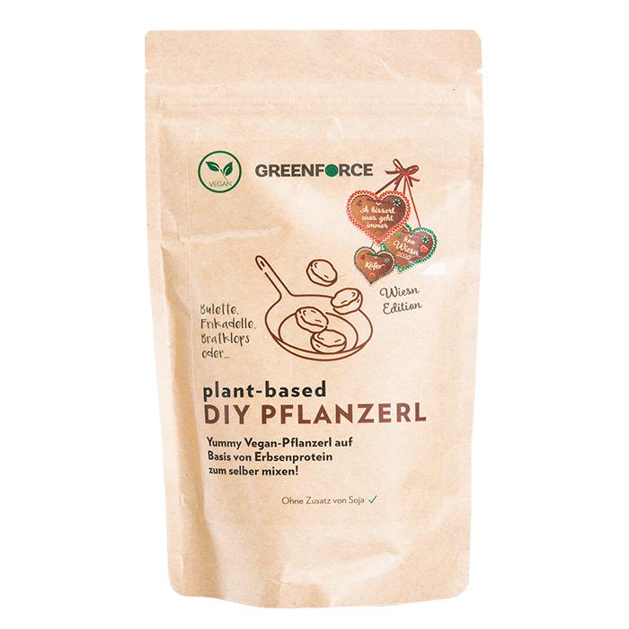 Vegane Pflanzerlmischung