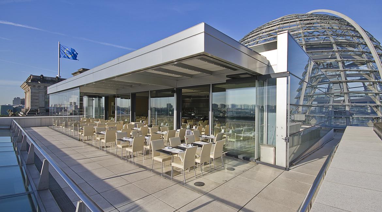dachgarten restaurant berlin restaurants feinkost k fer online. Black Bedroom Furniture Sets. Home Design Ideas