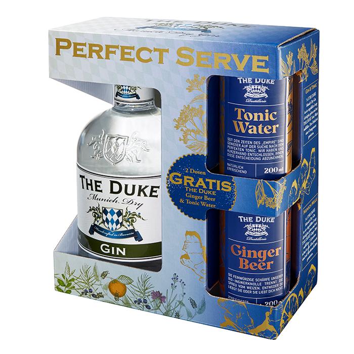 Bio The Duke Gin, Tonic & Ginger Beer
