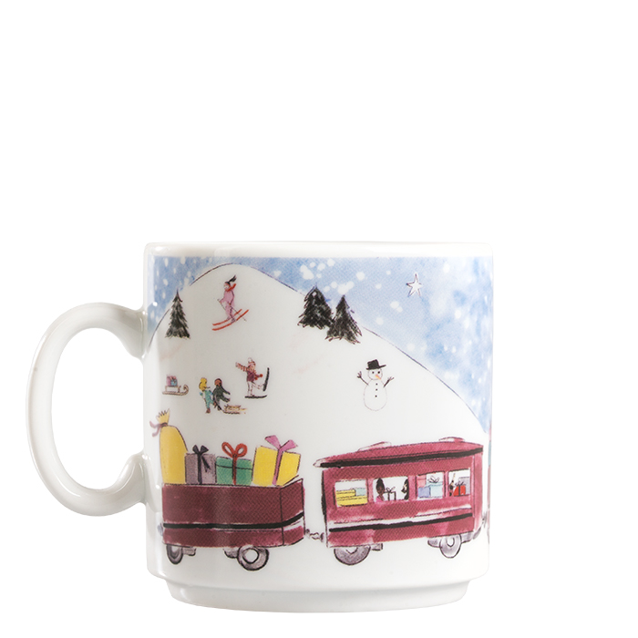 """Kids Weihnachts-Haferl """"Zug"""""""